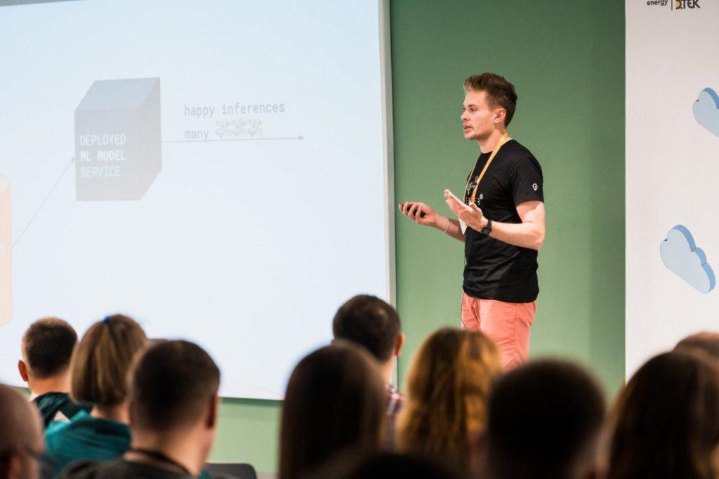 Yurii Gavrilin at AWS Loft Kyiv